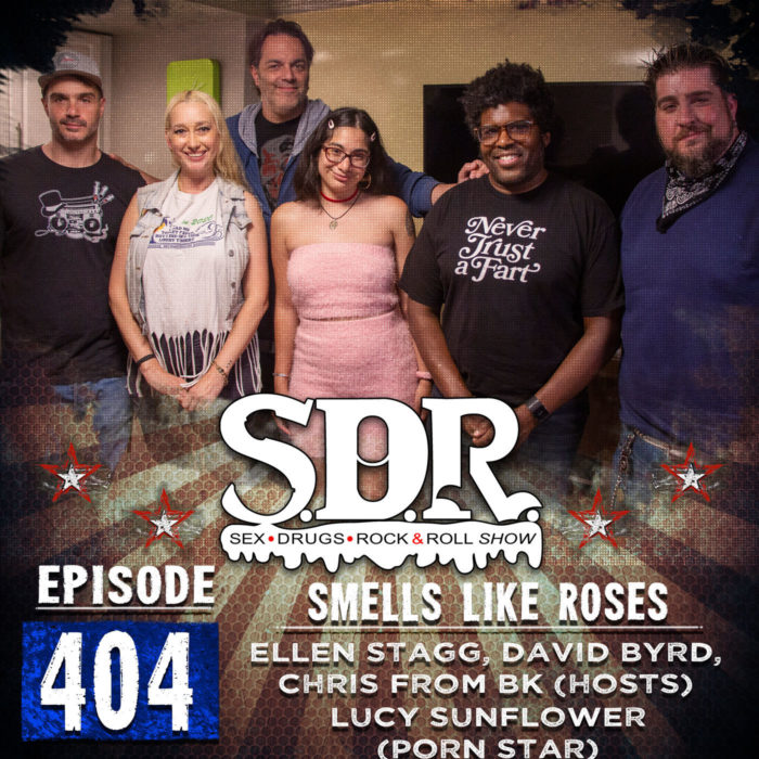 Ellen Stagg, David Byrd, Chris From BK & Lucy Sunflower (Hosts & Porn Star) – Smells Like Roses
