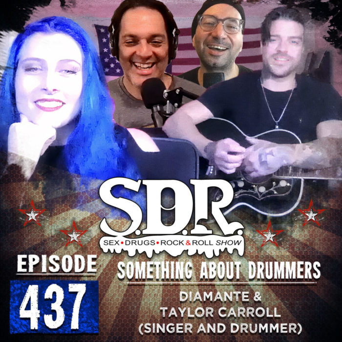 Diamante And Taylor Carroll (Singer And Drummer) – Something About Drummers