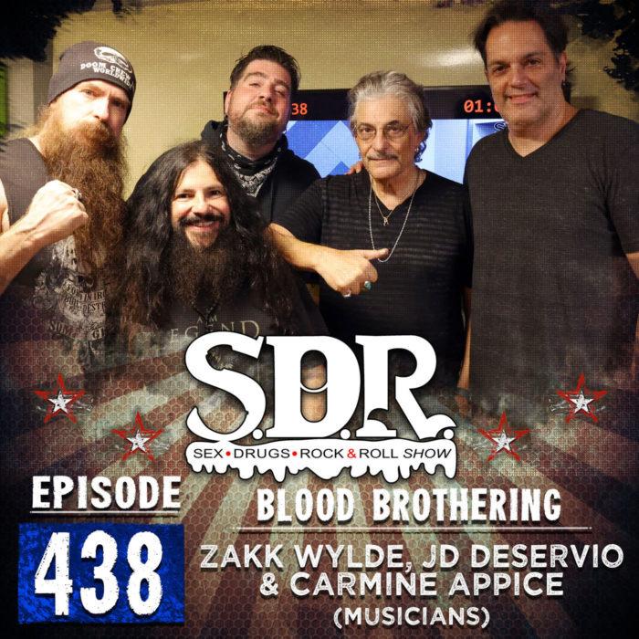 Zakk Wylde, JD DeServio & Carmine Appice (Musicians) – Blood Brothering